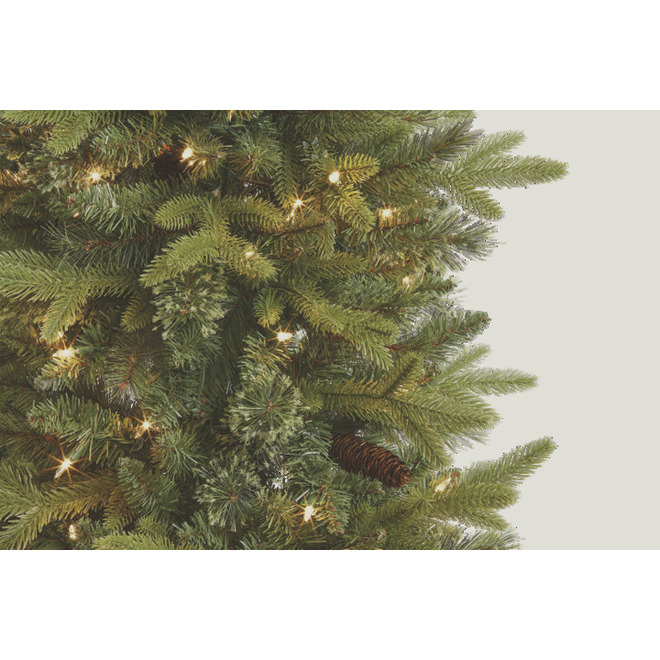 Holiday Living Hayden Prelit Tree with 1288 Tips and 210 Lights - 7-ft
