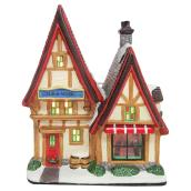 "Lighted Pub for Christmas Village - 5.7"" x 3.9"""