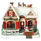 Polyresin Christmas House