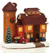"Maison vignoble pour village de Noël, 8,7"", multicolore"