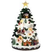 Christmas Scene - Musical and Animated - Polyresin - 16.5""