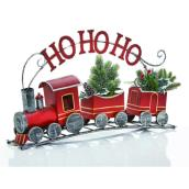 Ho Ho Ho Train - Metal - 29.3-in - Multicolour