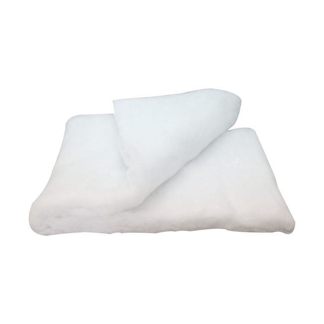 Holiday Living - Decorative Snow Blanket - Polyester - 96-in x 15-in - White