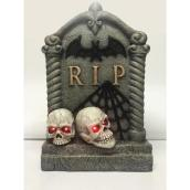 Carole Towne 22.7-in  LED Lighted Tombstone