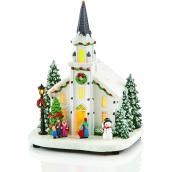 Église Carole Towne illuminée