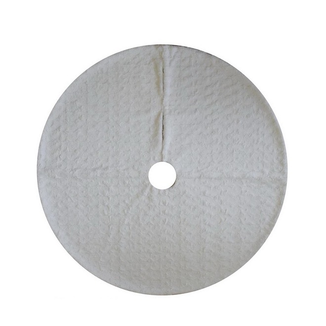 Holiday Living Circular Tree Skirt - 48-in - White