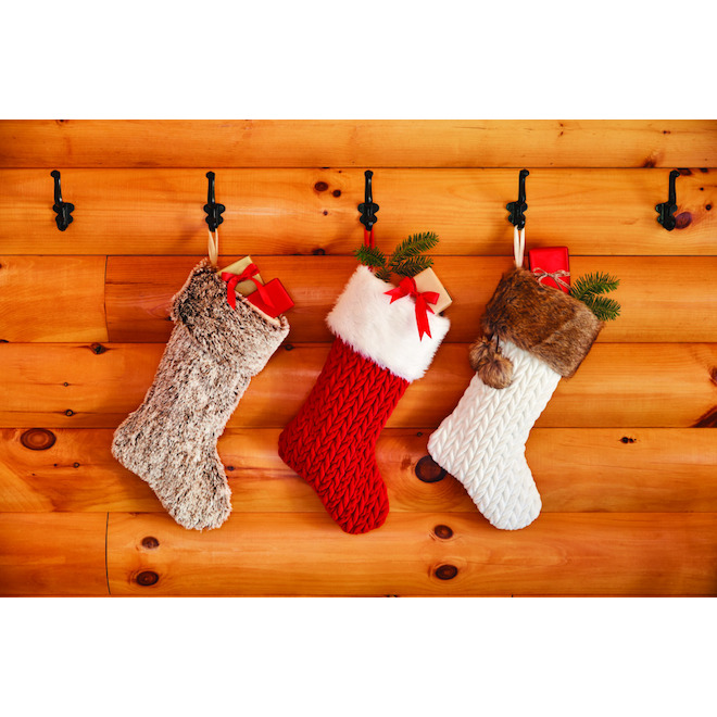Holiday Living 2 Tones Xmas Stocking - 21-in