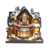 Animated Dairy Factory for Christmas Village