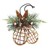 "Snowshoes Ornament - 5"" x 6"""