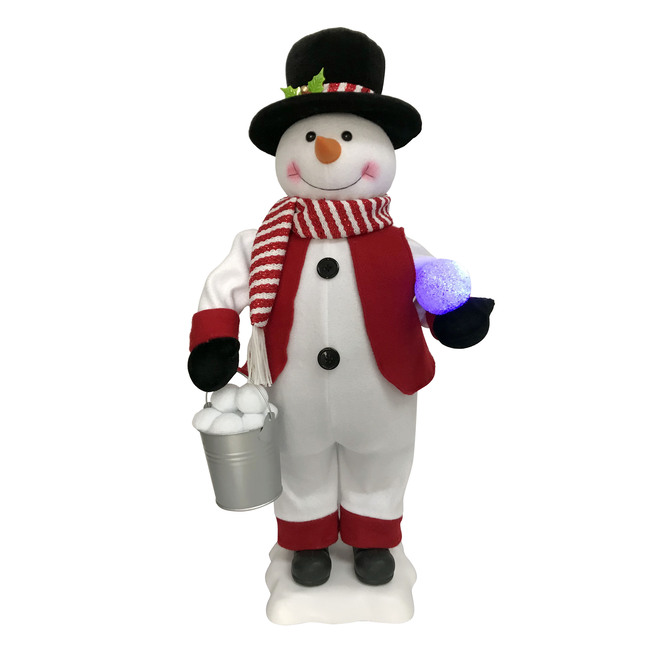 Holiday Living Animated and Musical Snowman