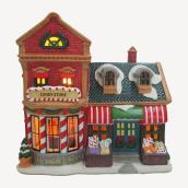 Magasin de bonbons illuminé et animé Holiday Living, Carole Towne, multicolore