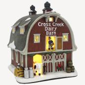 Étable laitière illuminée Holiday Living, Carole Towne, multicolore