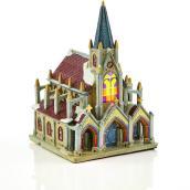 Cathédrale illuminée Holiday Living, Carole Towne, multicolore