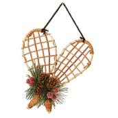 Bamboo Snowshoe Ornament - 6.89''