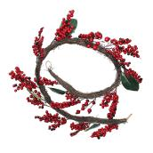 Holiday Living Garland - Vine and Berries - 6-ft - Red/Green