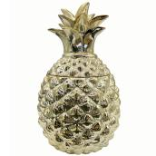 "Pineapple Candle Holder - 6.3"" x 9.9"" - Gold"