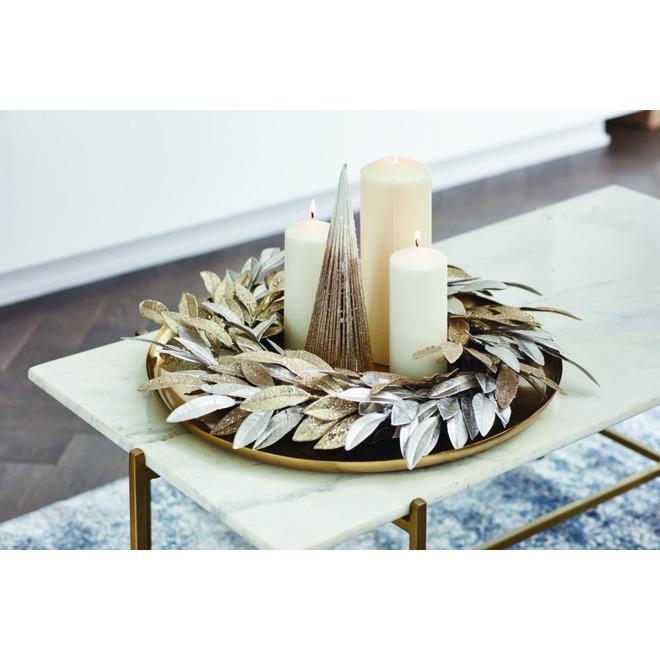 Décoration de table Holiday Living, sapin, 12 po, métal, or ombré