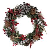 Holiday Living LED Decorated Wreath - 30-in