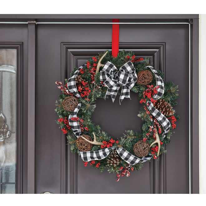 Holiday Living Decorated Wreath - LED - 30-in