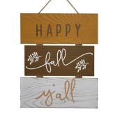 Décoration automnale Happy fall y'all de Holiday Living, 11 po