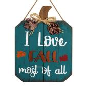 Décoration murale « I Love Fall most of all » Holiday Living, 12 po