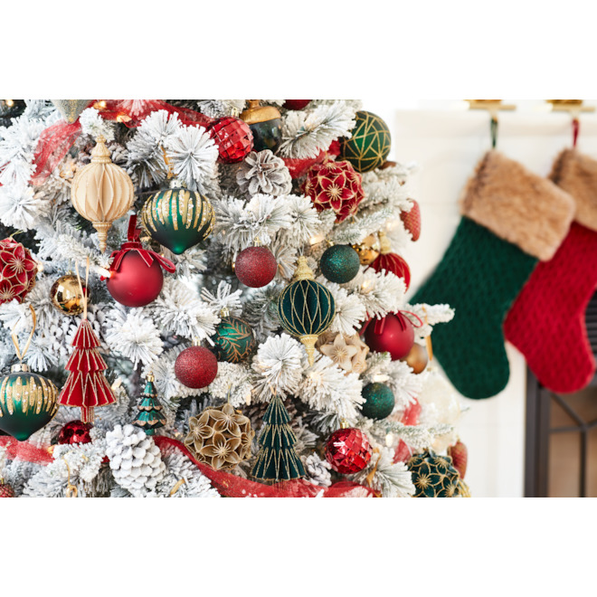 Holiday Living 3-Pack Multicolour Paper Finial Ornaments