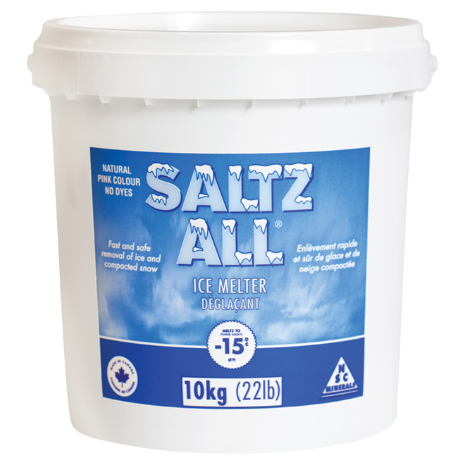 Ice Melter - SALTZ ALL® - -15 °C - Sodium Chloride - 10 kg