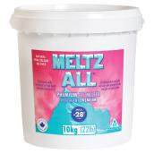 Déglaçant, MELTZ ALL(MD), -28 °C, chlorure de sodium, 10 kg