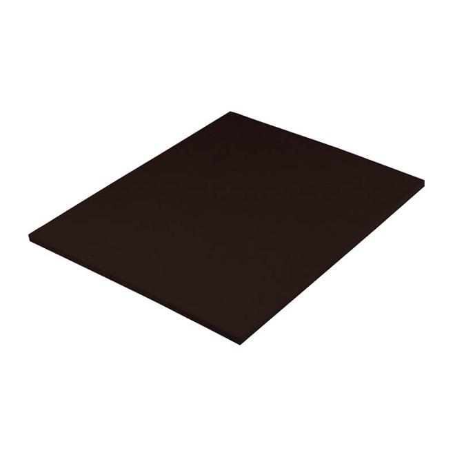 "Rigid Insulation Panel - Wood Fiber - 7/16"" x 4' x 8' - Black"