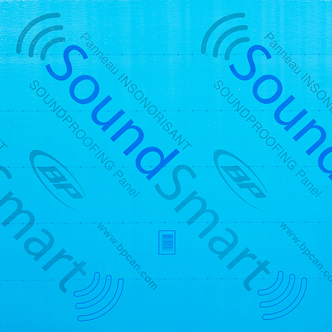 SoundSmart Acoustic Panel - 48-in x 97-in