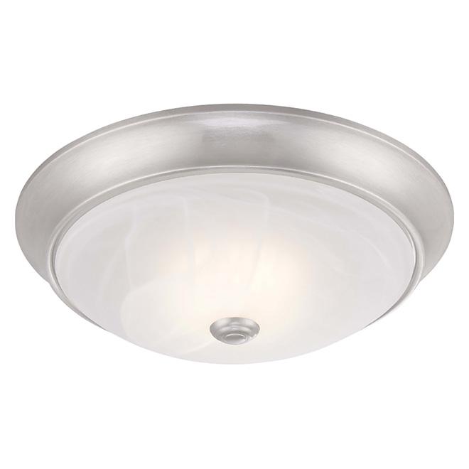 Uberhaus Ceiling Light - Flush Mount - LED - Brushed Nickel