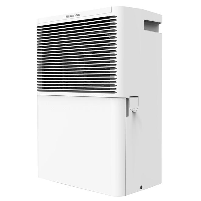Electric Dehumidifier - 25 Pints - Copper/Aluminum - White