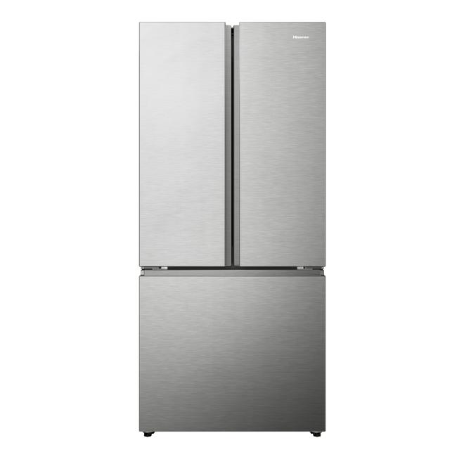 Réfrigérateur HiSense avec portes françaises, 20,8 pi³, 30 po, acier inoxydable