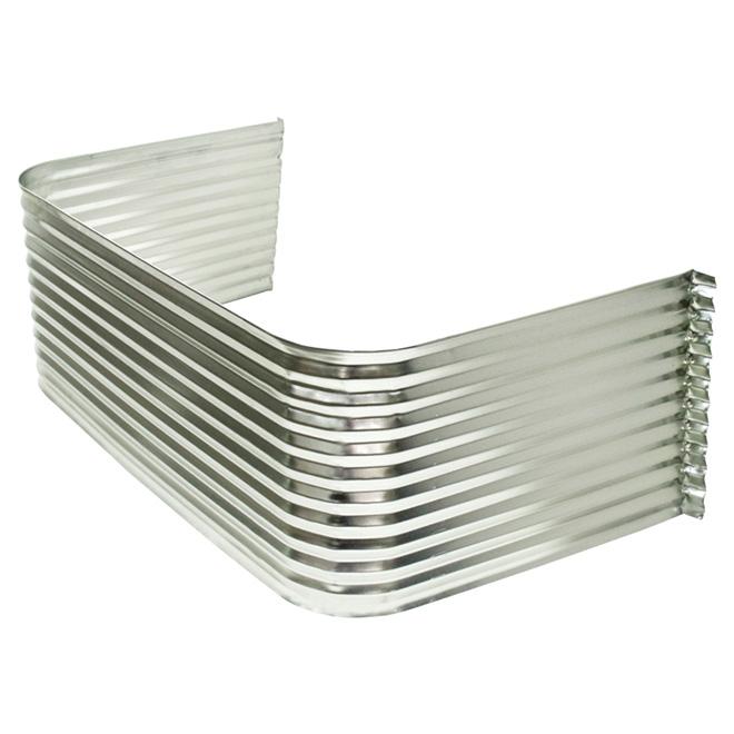 Corrugated Galvanized Steel Well for Basement Windows