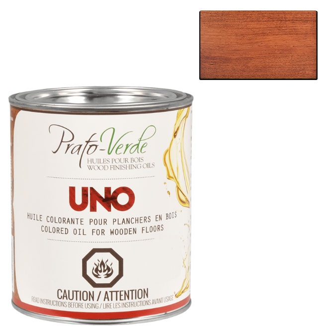 Huile colorante pour planchers en bois, 237 ml, africajou