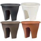 Pot à fleurs « Corsica » pour rampe