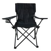 Style Selections Event Chair - 31.5-in x 35.5-in - Black