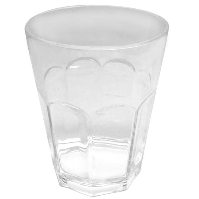 Verre à lait, transparent