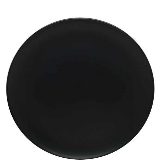 Dinner Plate - ALLEN + ROTH - 10 1/2 in x 1 in - Black