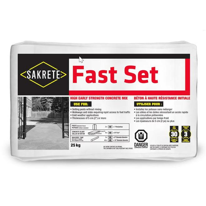 Pre-Mixed Fast Setting Concrete - 25 kg