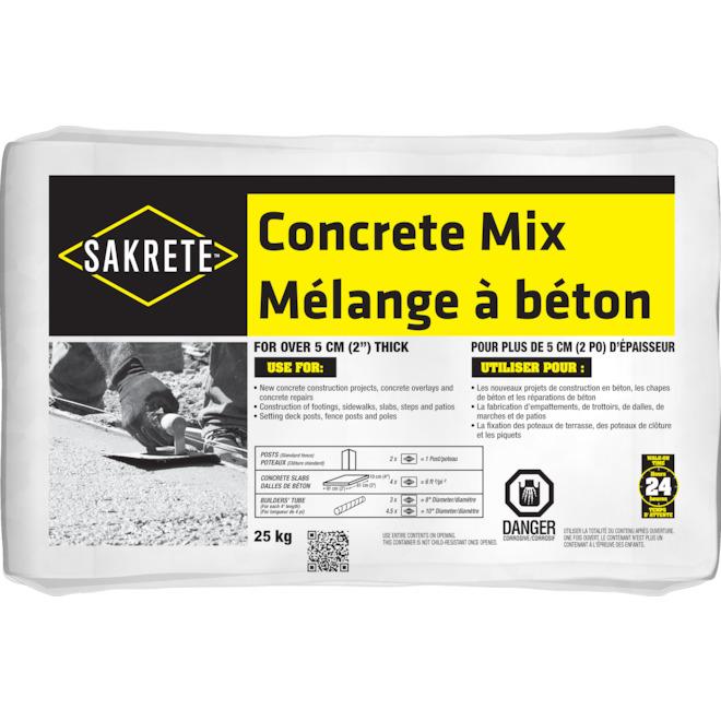Sakrete® Concrete Mix - 25 kg