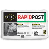 Fast Setting Concrete Mix - RAPIDPOST - 25 kg