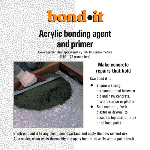 Scellant et apprêt à l'acrylique pour ciment