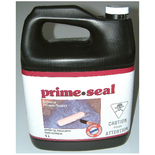 Basalite Interior Primer/Sealer - Water Base - Acrylic - 4 L