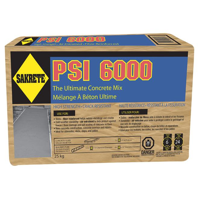 Concrete - Super Pro 6000 PSI - 25 kg