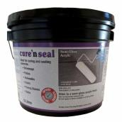 Concrete cure and seal