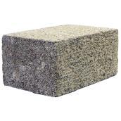 Brique jumbo en béton, 4'' x 5'' x 8'', gris
