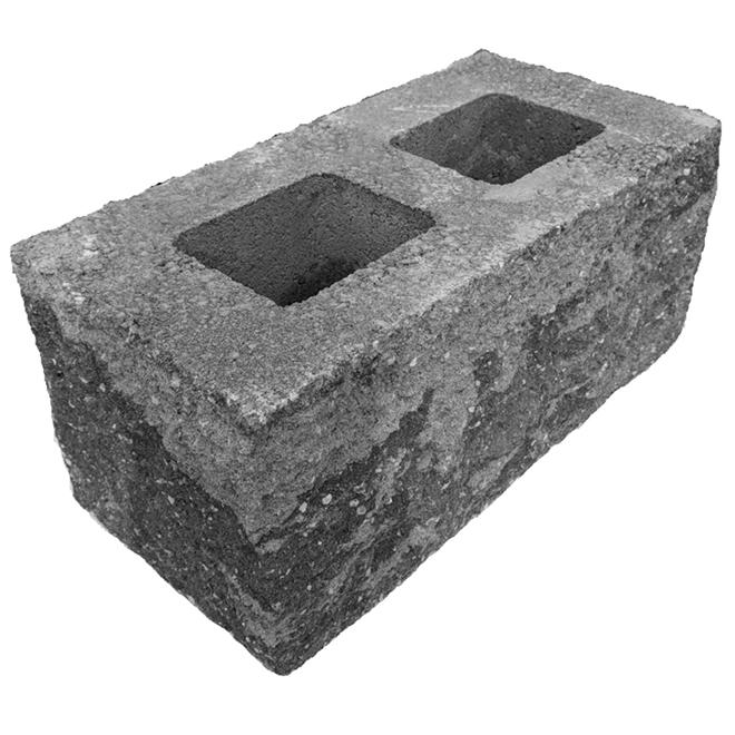 Concrete Block Valley Stone - 8'' x 18'' x 9'' - Roman
