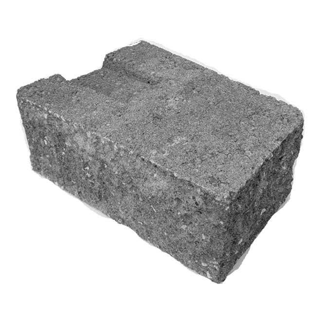 """Concrete Corner Wall - Roman/Splitface - 4"""" x 10"""" x 7"""""""