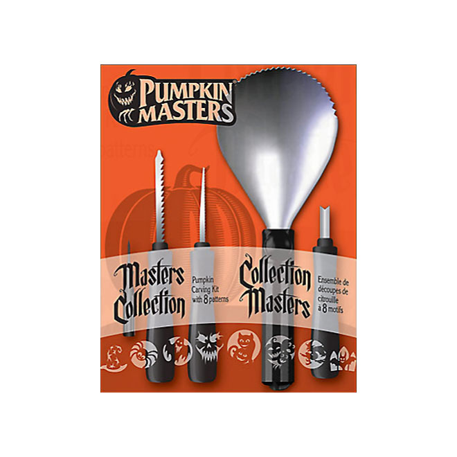 Pumpkin Carving Kit with 8 patterns
